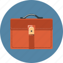 baggage, briefcase, case, school, suitcase icon