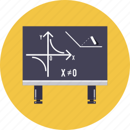 blackboard, calculate, chalkboard, knowledge, math, school, university icon