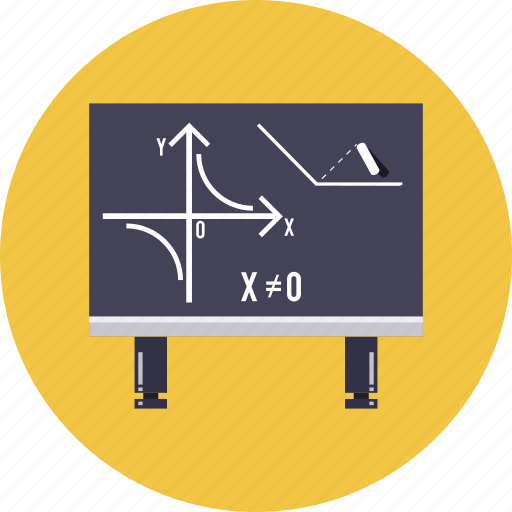 blackboard, calculate, chalkboard, knowledge, math, school, university icon