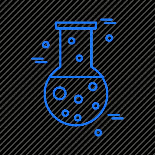 beaker, chemical, flask, test, tube icon
