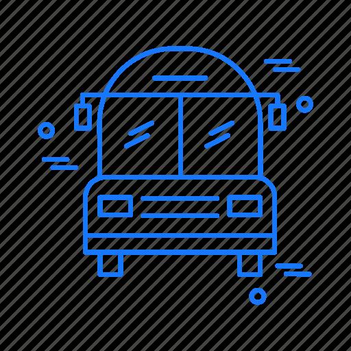 bus, school, van icon