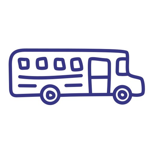 bus, school, transport, vehicle icon