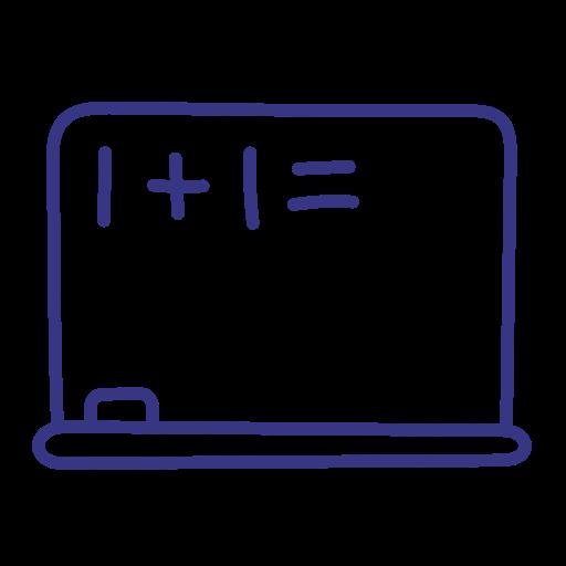 blackboard, board, education, school icon
