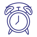 alarm, clock, reminder, timer icon