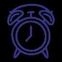 alarm, clock, reminder, timer icon