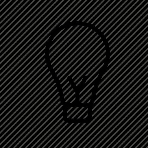 bulb, electricity, energy, idea, light, lightbulb icon