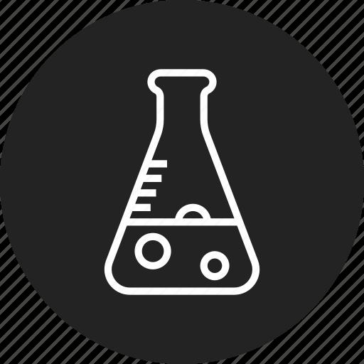analysis, test, tube icon