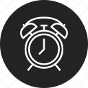 alarm, clock, timer icon