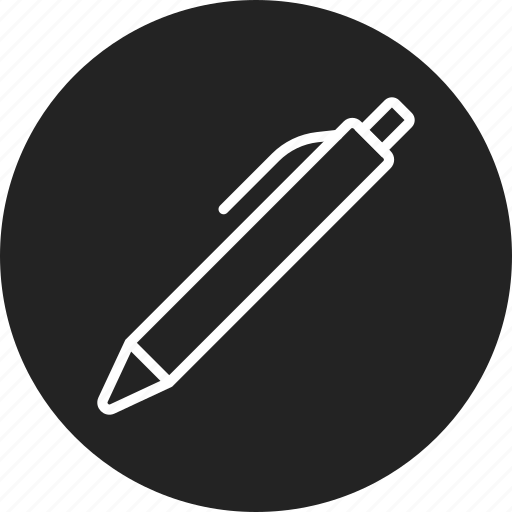 ink, pen, write icon