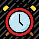 alarm, clock, alert, time