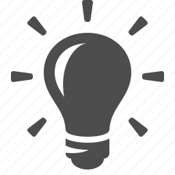 bright, bulb, idea, light, lightbulb icon