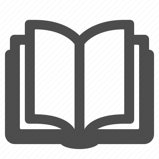 book, education, learning, opened, reading icon
