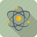 atom, chemistry, school icon
