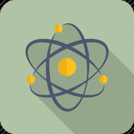 atom, chemistry, school icon