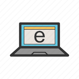 business, computer, connection, internet, network, phone, technology icon