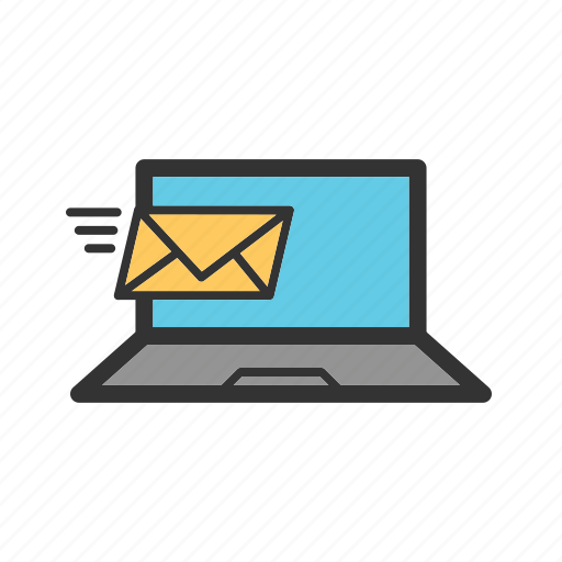 email, envelope, mail, message, send, sign icon