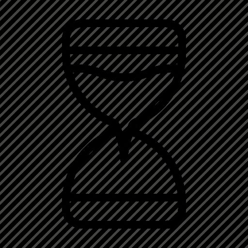 clock, sand clock, sand time, sand timer, time, timer icon