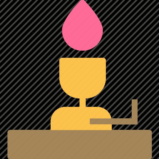 fire, firelamp, flam, heat icon