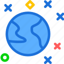 earthstar, s, space, universe icon