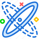 distance, galaxy, lightspeed, space, travel icon