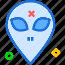 alien, avatar, monster, space, stranger, visitor icon