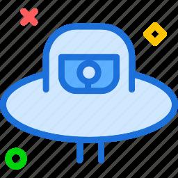 alien, ship, stranger, visitor icon
