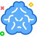 brain, cloud, human, organ, organism icon