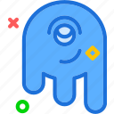 alien, monster, space, stranger, visitor icon