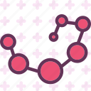 analyze, chemical, connection, research, structure icon