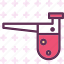 fire, flam, flask, heat icon