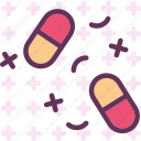 desease, drugs, meds, pills, treatment icon