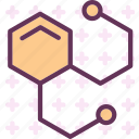 chemestry, graphic, structure, system icon