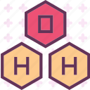analyze, chemical, graphic, research, structure, system icon