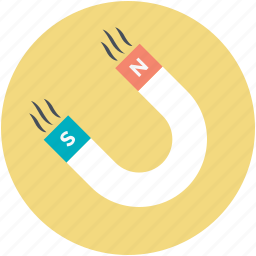 attract, magnet, magnetic, magnetism, magnetization icon