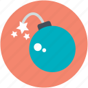 blast, bomb, bombshell, explosive, grenade icon