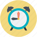 alarm clock, clock, morning alarm, retro timer, timer icon