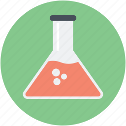 beaker, chemical, flask, lab test, test tube icon