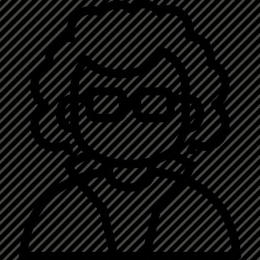 avatar, doctor, einstein, man, professor, scientist icon