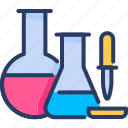 biology, fluid, test tube, science, test, droper icon