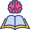 book, brain, education, knowledge, learning