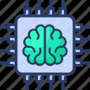 ai, artificial, barain, ic, intelligence icon