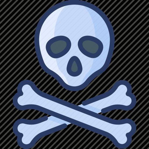 anatomy, bones, death, halloween, poison, skull icon