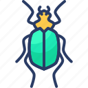 bug, cockroach, flea, insect, roach icon