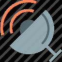 dish, observer, radio, satellite, signal