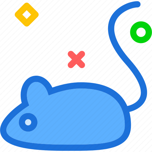 animal, experiment, mouse icon