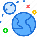 moon, planet, universerevolution icon