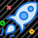 rocket, ship, space, travel