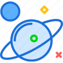 jupiter, moon, planet, planets, saturn, space, stars icon