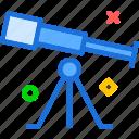s, space, star, telescope, universe, view icon