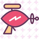 alien, gun, futuristic, ray icon
